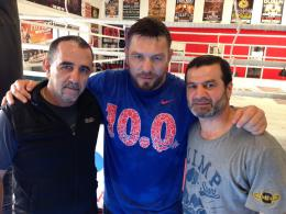 Diaz, Chagaev, Grigorjan (Foto: Digital Sports)
